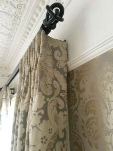 curtain return